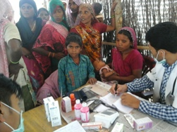 Medical Camp at Beriparao